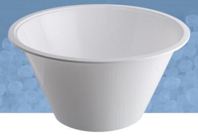 Raccoglisiero da 2 kg bianco
