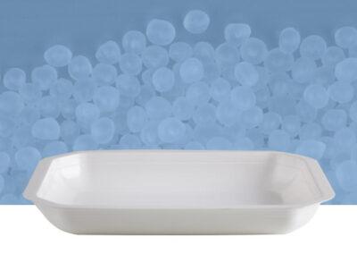 Vaschetta poligonale da 1 kg bianca