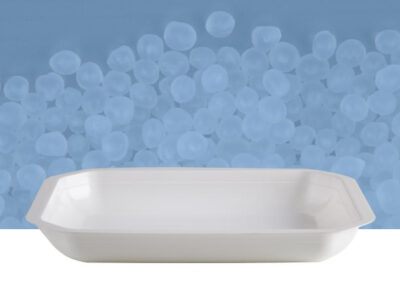 Vaschetta poligonale da 1 kg trasparente
